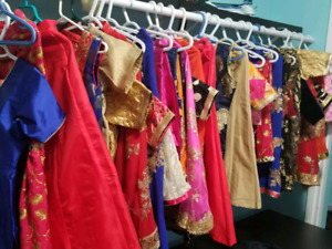Brand new beautiful indian dresses for girls