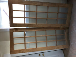 """French Doors - New 30"""" by 77"""""""