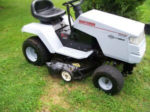 craftman lawn tractor