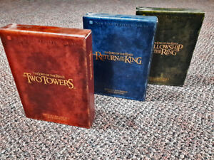 Lord of the Rings DVD box sets