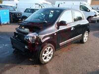 2015 Renault Twingo Dynamique Energy T 0.9 DAMAGED REPAIRABLE SALVAGE