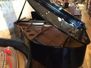 K.Kawai Grand ebony polish Piano. FREE DELIVERY!  Kitchener / Waterloo Kitchener Area image 3