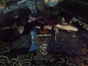 Girls clothing over 50 items - vintage t shirts