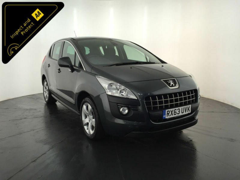 2013 63 PEUGEOT 3008 ACTIVE HDI DIESEL 1 OWNER SERVICE HISTORY FINANCE PX