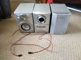 Sharp Speakers and Subwoofer