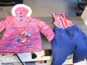Snowsuit, Krickets, Girls size 2T, BNWT