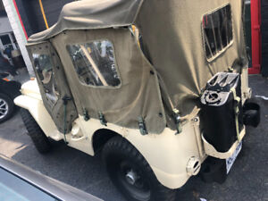 Willys M38 1952 refurbished