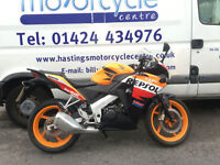 Honda CBR125R Learner Legal Sports Bike