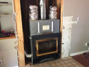 Fireplace for home or garage or cottage