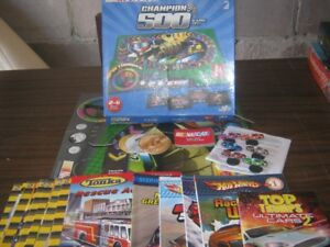 Nascar Game and Books