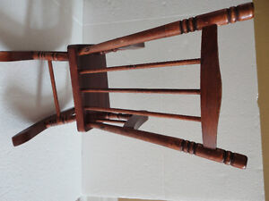 Handmade solid wooden decorative rocking chair for display London Ontario image 4