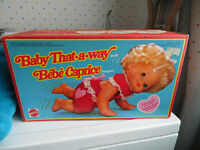 BABY THATAWAY IN BOX CLEAN VINTAGE