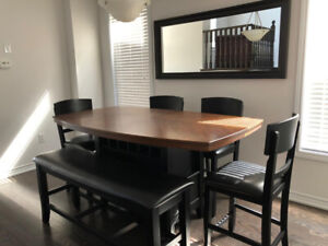 Modern Counter-height Wood Dining Set $650 OBO