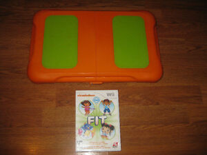 Wii Fit Balance Board and Nickelodeon Fit