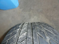 Set of Four Rims and Tires 205 60 r15 M + S     see Pics