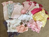 Baby girl bundle (0-3)