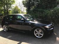 2010 60 BMW 120d M Sport Auto SAT NAV 5DR HATCKBACK DIESEL BLACK