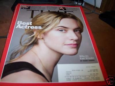 Time Magazine 3/2/2009 Kate Winslet Best