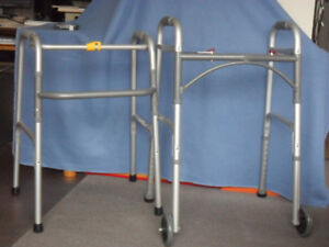 WALKERS, FOLD-ABLE and LIGHTWEIGHT, A - 1! 416-483-1730