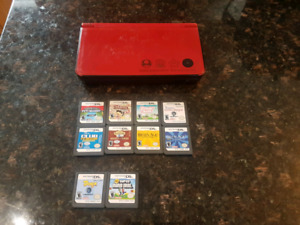 Nintendo DS XL system and games