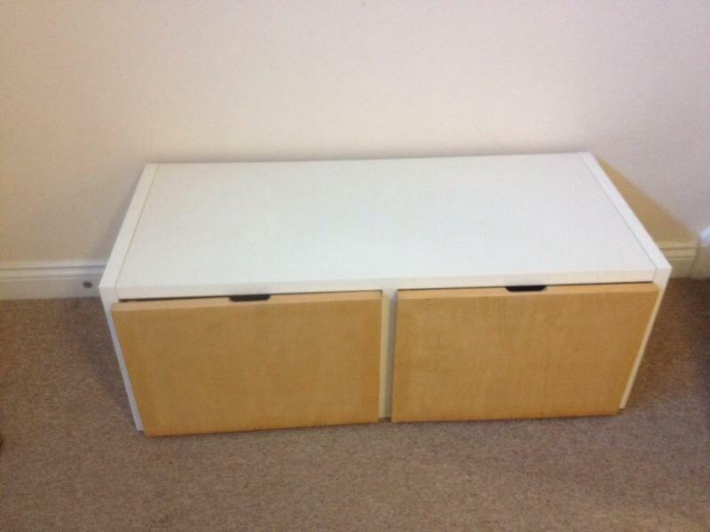 Ikea large storage bench box in bournemouth dorset for Large toy box ikea