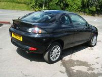 2001 51 Ford Puma 1.7 Ltd Ed Black Coupe 2d **87k / New MOT**