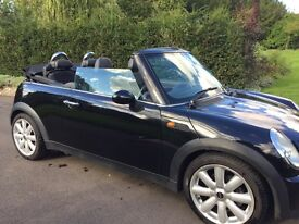 MINI Cooper Convertible Automatic, 2dr 1.6, great condition, 6 months MOT