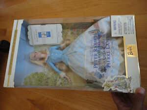 Brand new in box collectible Peter Rabbit Barbie doll London Ontario image 7