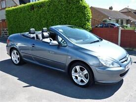 PEUGEOT 307 2.0 CC 180 CONVERTIBLE (ONLY 72,000 MILES)