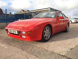 1989/G REG Porsche 944 NON TURBO FULL PORSCHE HISTORY IMMACULATE CONDTION