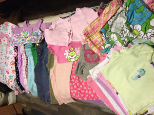 Size 12 month baby girl lot