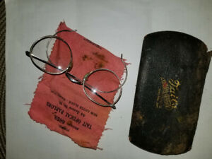 Antique spectacles round eyeglasses  from TAIT GIBSON Optical