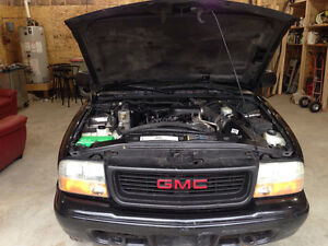 2003 GMC Sonoma SLS Pickup Truck AS IS
