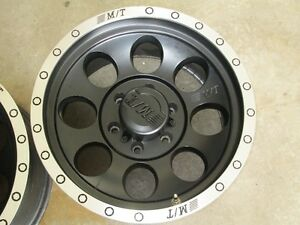 2  Mickey Thompson  Aluminum Rim's 6-Bolt 17 x 9