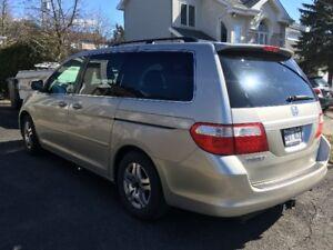 2006 Honda Odyssey EX-L entièrement équipée, 1 proprio!