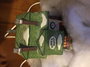 Dept 56 North Pole Series Elfie's Sleds and Skates