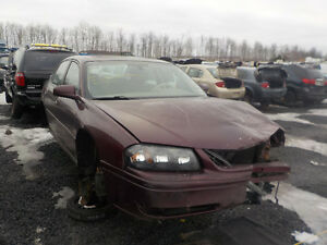 2004 Chevrolet Impala Now Available At Kenny U-Pull Cornwall