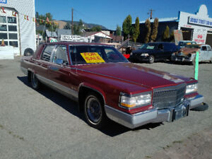 1990 Cadillac Brougham D'Elegance for sale!