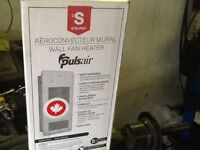 Pulsar wall fan heater