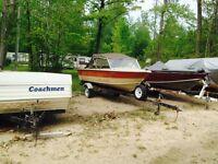 16 ft Credtliner Aluminum Boat