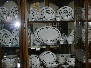 110 PIECE Royal Adderley   Newfoundland Tartan China