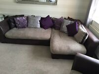 DFS corner sofa set