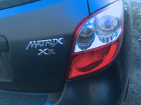 2010 Matrix XR  ACCIDENT FREE ONE OWNER 56000 KM CERTIFIED