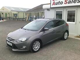 2011 FORD FOCUS TDCI TITANIUM 1.6L ONLY 38.352 MILES,FULL *FORD* SERVICE HISTORY
