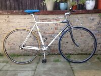 Raleigh Equipe Vintage Conversion Fixed Gear Fixie Bike 20 Inch Frame Excellent Condition