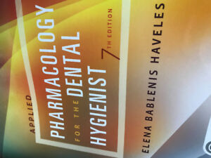 Applied Pharmacology for the Dental Hygienist 7th edition