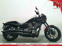Victory Hammer S 2016 - Black and Red - Low Mileage, ABS, USD, Seat Cowling