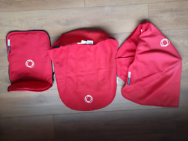 Bugaboo Cameleon tailored fabric set in red