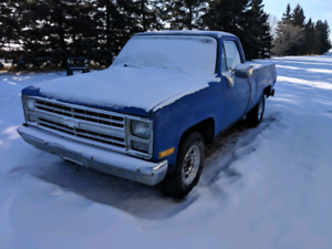1985 chev 2wheel drive 3/4 ton square body PROJECT!!!