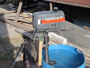 2 HP Mariner Outboard Motor